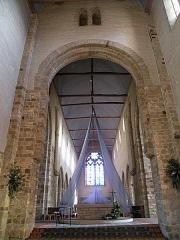 Eglise Notre-Dame-en-Saint-Mélaine - Français:   Chœur de l'église Notre-Dame-en-Saint-Melaine de Rennes.
