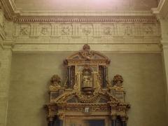 Eglise Toussaints - Intérieur de l'église Toussaints de Rennes (35).