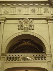 Eglise Toussaints - Tribune sud du chœur de l'église Toussaints à Rennes (35).