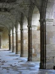 Hospice Saint-Mélaine - Français:   Cloître de l\'abbaye Saint-Melaine de Rennes (35).
