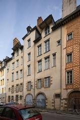 Maison, dite Hôtel de la Louvre ou de la Noue - Français:  Façade arrière de l'hôtel de la Noue à Rennes (France).