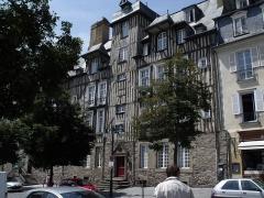 Maison, dite Hôtel de la Louvre ou de la Noue - Español: Hôtel de La Noue, Rennes.