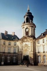 Hôtel de ville - Brezhoneg: Ti Ker, Roazhon / Resnn, Bro Roazhon, Breizh
