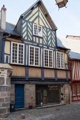 Maison de la Prévôté - Français:   Maison de la Prévôté, 14 rue de la Psalette à Rennes.