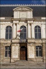 Palais de Justice - Entrée du palais du parlement de Bretagne à Rennes