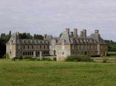 Château du Rocher-Portail - Château du Rocher-Portail en Saint-Brice-en-Coglès (35).