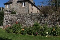Château du Verger au Coq - Château du Verger au Coq à Saint-Germain-sur-Ille: le potager.