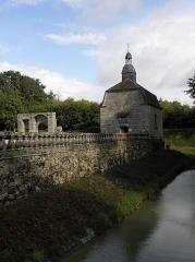Château de la Haye, ou la Haye-Saint-Hilaire - Chapelle du château de la Haye-Saint-Hilaire en Saint-Hilaire-des-Landes (35).