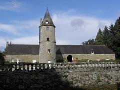 Château de la Haye, ou la Haye-Saint-Hilaire - Vue orientale du château de la Haye-Saint-Hilaire en Saint-Hilaire-des-Landes (35).
