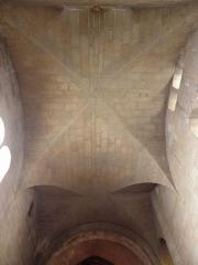 Ancienne cathédrale Saint-Vincent - Intérieur de la cathédrale Saint-Vincent de Saint-Malo (35). Transept nord. Voûtes.