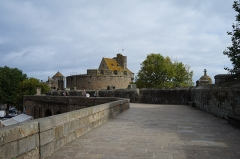 Château et fortifications - Les remparts de la cité de Saint-Malo