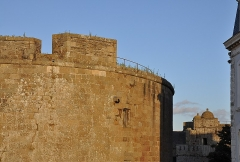 Château et fortifications - English: La Générale tower at the castle of Saint Malo (Brittany, France) view from the walls of the city