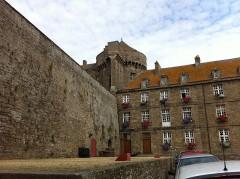 Château et fortifications - Español: Castillo de Saint Malo