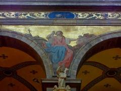 Eglise Sainte-Croix - Français:   Église Sainte-Croix de Saint-Servan, commune de Saint-Malo (35)  Fresques peintes par Louis Duveau (Saint-Malo 1818 - Paris 1867) du 13 juin 1854 au 21 mai 1855.Sainte-Marie-Magdeleine.