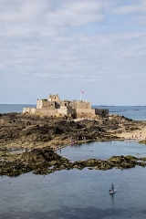 Fort national et son enceinte - English: Fort National - Saint-Malo