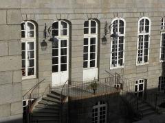 Hôtel Magon de la Lande dit hôtel d'Asfeld - Français:   Hôtel Magon de la Lande à Saint-Malo (35).