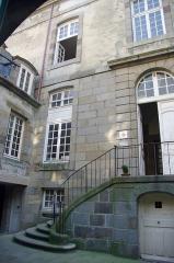 Hôtel Magon de la Lande dit hôtel d'Asfeld - Français:   Hôtel Magon de la Lande,  hôtel d\'Asfeld, 5 rue d\'Asfeld 4 rue de Toulouse 2 rue de Chartres (Classé, 2000)
