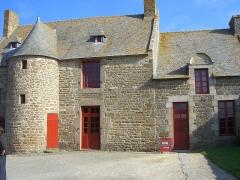 Maison de Jacques Cartier, dite Les Portes Cartier - Français:   Manoir de Limoëlou, résidence de Jacques Cartier.
