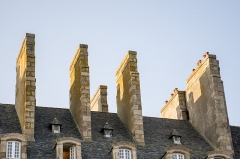 Maison - English: Saint-Malo - Ceilings at Rue d'Orléans