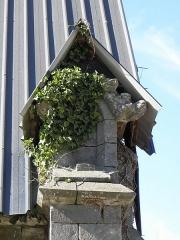 Ancienne abbaye Notre-Dame du Nid-au-Merle - Chapelle Notre-Dame-sur-l'Eau de l'abbaye Notre-dame-du-Nid-au-Merle en Saint-Sulpice-la-Forêt (35).