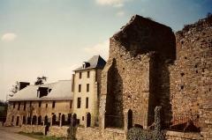 Ancienne abbaye Notre-Dame du Nid-au-Merle - Ancienne abbaye Notre-Dame du Nid-au-Merle, Saint Sulpice la Foret, Pays de Rennes, Bretagne