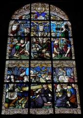 Eglise Saint-Pierre - Vitrail de la Passion de l'église Saint-Pierre de Visseiche (35).