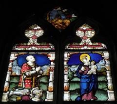 Eglise Saint-Pierre - Baie 2 de l'église Saint-Pierre de Visseiche (35).