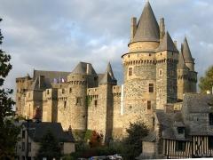 Château - Château de Vitré, Ille-et-Vilaine, France