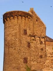 Château - Château de Vitré (35). Tour de Montafilant.