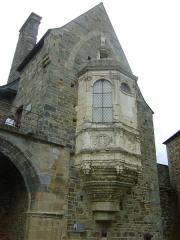 Château - Le Château des barons de Vitré. Ille-et-Vilaine. L'Oratoire.