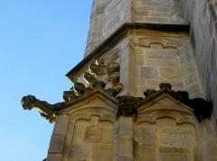 Eglise Notre-Dame - 7ème contrefort de la façade sud de l'église Notre-Dame de Vitré (35).
