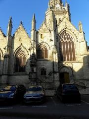 Eglise Notre-Dame - 6ème chapelle de la façade sud de l'église Notre-Dame de Vitré (35).