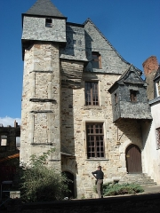 Ancien Hôtel du Bât ou du Bol d'Or -  Hôtel du Bât, Vitré (35).