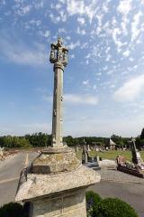 Cimetière - Français:  Croix du cimetière d'Augan (France).