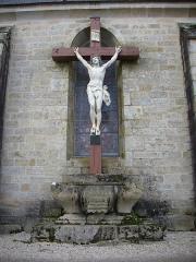 Eglise Notre-Dame - Église Notre-Dame de Bieuzy (Morbihan, France), calvaire côté sud