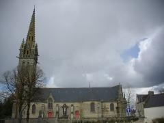 Eglise Notre-Dame - Église Notre-Dame de Bieuzy (Morbihan, France), côté sud