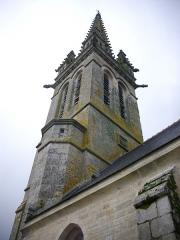 Eglise Notre-Dame - Église Notre-Dame de Bieuzy (Morbihan, France), clocher
