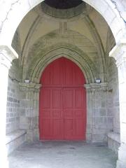 Eglise Notre-Dame - Église Notre-Dame de Bieuzy (Morbihan, France), portail occidental