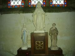 Chapelle Sainte-Anne - Chapelle Sainte-Anne de Buléon (Morbihan, France): autel secondaire