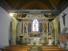 Chapelle Sainte-Anne - Chapelle Sainte-Anne de Buléon (Morbihan, France): retable principal