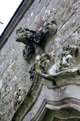 Chapelle Sainte-Anne - Français:   Chapelle Sainte-Anne (Buléon): détail porte