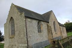 Chapelle Sainte-Anne - Français:   Chapelle Sainte-Anne (Buléon): vue depuis le sud-est