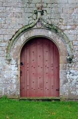 Chapelle Sainte-Anne - Français:   Chapelle Sainte-Anne (Buléon): porte principale