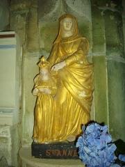 Chapelle Sainte-Anne - Chapelle Sainte-Anne de Buléon (Morbihan, France): sainte Anne et la Vierge
