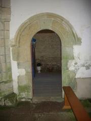 Chapelle Sainte-Anne - Chapelle Sainte-Anne de Buléon (Morbihan, France): arcade