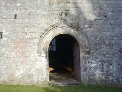 Chapelle Sainte-Anne - Chapelle Sainte-Anne de Buléon (Morbihan, France): portail occidental