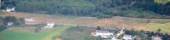 Alignement du Ménec - Nederlands: Luchtopname van het oostelijk deel van de steenrijen van Ménec nabij Carnac in Bretagne. Nikon D60 f=82mm f/4.5 bij 1/4000s ISO800. Bewerkt in Nikon ViewNX 2.1.2 en GIMP 2.6.11.