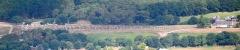 Alignement et dolmen de Kermario - Nederlands: Luchtopname van het westelijk deel van de steenrijen van Kermario nabij Carnac in Bretagne. Nikon D60 f=122mm f/5 bij 1/4000s ISO800. Bewerkt in Nikon ViewNX 2.1.2 en GIMP 2.6.11.