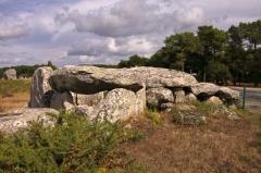 Alignement et dolmen de Kermario - Dolmen de Kermario
