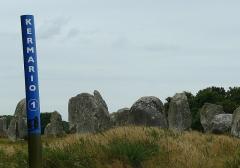 Alignement et dolmen de Kermario - Italiano: allineamenti di Kermario - Indicazione